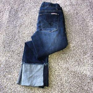 Hudson Girls Cropped Jeans